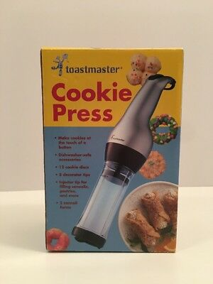 Toastmaster Cookie Press - New In Box - Never Out Of The Box