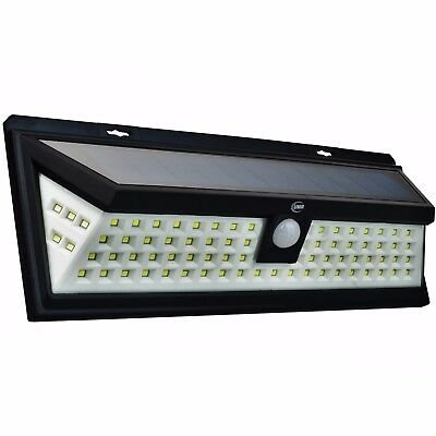 80 LED Solar Security Light Dusk to Dawn | BRIGHT Outdoor Motion Sensor Lighting