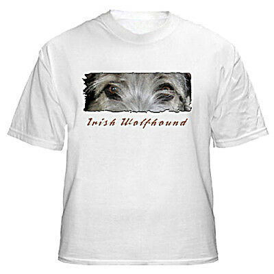 "Irish Wolfhound   grey  # 3 "" The Eyes Have It ""  T shirt"