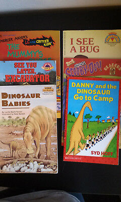 Lot of 6 Children's Book - early reader Levels 1-3