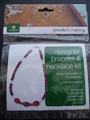 Designer bracelet & necklace kit - GOLD