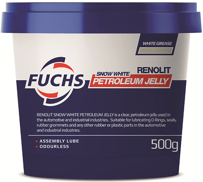 Fuchs RENOLIT PETROLEUM JELLY Assembly Lube, Odourless*Aust Brand- 500g Or 2.5Kg