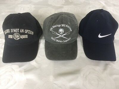 3x Men's Baseball Caps (Nike/Disney/Kennedy Space Centre). New without tags.
