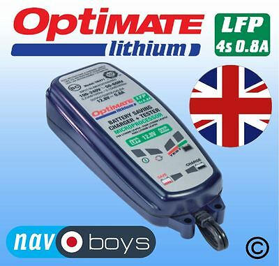 Optimate Lithium 0.8A 12V Battery Saving Charger And Tester