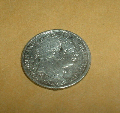 George Iii  Silver Sixpence Dated 1816