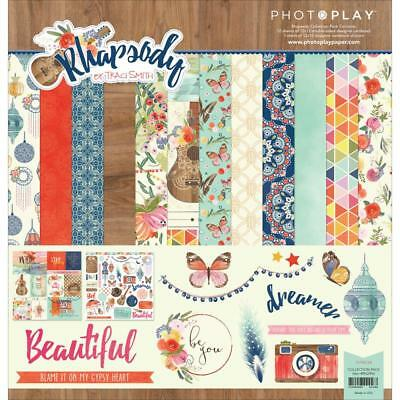 Photo Play Rhapsody - By Traci Smith Collection Pack 13pcs, Scrapbooking, Craft