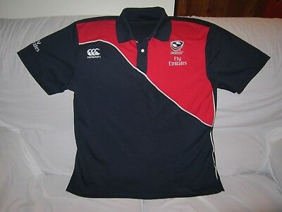 Usa Rugby Ccc Polo Shirt Size Xl