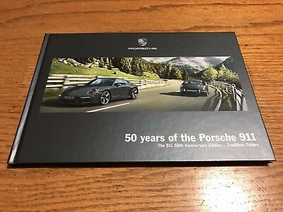 Brand New Porsche 50th Anniversary Edition 911 Hardcover Brochure Book Sales