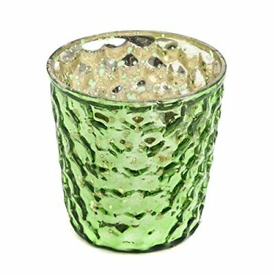 Insideretail Wedding Teal ight Holders, Vetro, Green, 7 x 7 x 7 cm, (F9L)