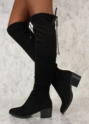 SEXY ''Show me Love' boots ~ Size 8.5 ~ Brand new in box. Color: Black