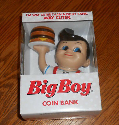 Big Boy Restaurant Coin Piggy Bank Vintage 2013 Collectible