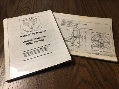 Buckeye Dream Machine Powered Parachute Assembly Manual with Single Seat Plans