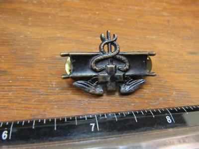 Awesome Military Medical Medic Eagle Navy Army Caduceus Pin (18A1)