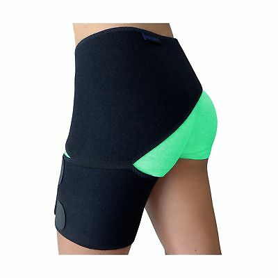 Groin Support  Hip Brace for Sciatica Pain Relief, Thigh, Hamstring, Quadrice...