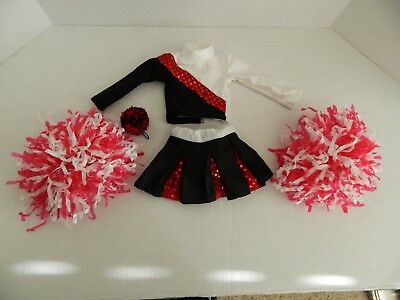 "Magic Attic Cheerleader Chic Outfit for 18"" Dolls Retired"