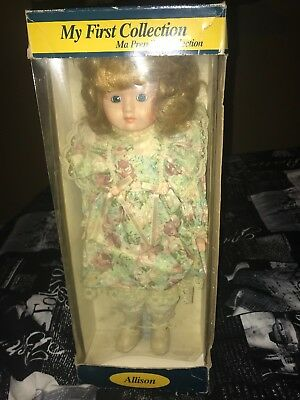 Extreamly Rare Allison Porcelin Doll
