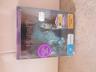 The Hobbit : An Unexpected Journey, Limited Edition Steelbook. New & Sealed.