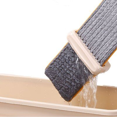 Lazy Hand wash-Free Flat Mop Hands-Free Washable Mop Washing Floor Double-SideLK