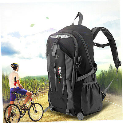 Mountaineering 40L Water Nylon Shoulder Bag Unisex Travel Hiking Backpack L5