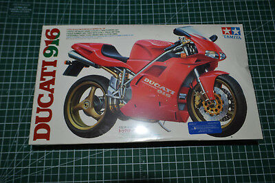 TAMIYA Motorcycle Plastic Model Kit 1/12 New Sealed Ducati 916  14068