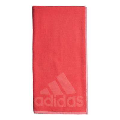 "*new* Adidas 100% Cotton Sports Towels 40"" X 20"" (Real Pink) Tennis/training"