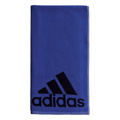"*new* Adidas 100% Cotton Sports Towels 40"" X 20"" (Noble Blue) Tennis/training"