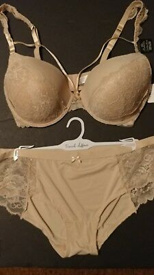 French Affair  Bra And Pantie  Set Sz. 38D, 36Dd, 40D, 38Dd, & 42D Nwt