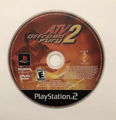 ATV Offroad Fury 2 - PlayStation 2 - Disk Only