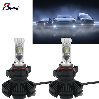 5202 CREE LED Fog Light Bulb 2016 Chevrolet Silverado 3500 HD 3000K 6500K 8000K