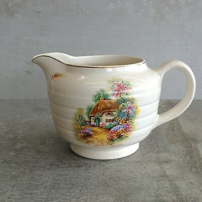 Vintage Swinnertons Pitcher Jug 550mls English Cottage Staffordshire England