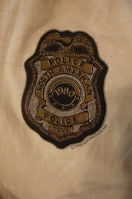 """Vtg Texas Estate 1980  """"the Police"""" North American Tour T Shirt Exc Cond!"""