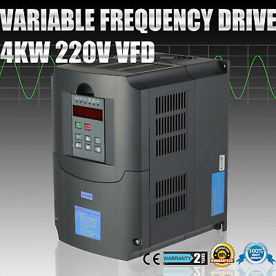4Kw 5Hp 220V 10A Single/three Phase Variable Frequency Drive Inverter Vfd