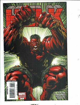 The Incredible Hulk # 3 NM 1st Print Variant Marvel Comic Book Red Finch MK4