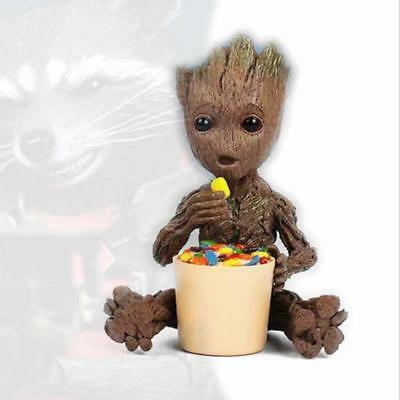 !Eating Sugar Groot Candy Guardians of the Galaxy vol. 2 Key Chain Figuren