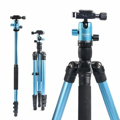 ZOMEI M3 Professional Camera Tripod Monopod Ball head for Digital Camera blue