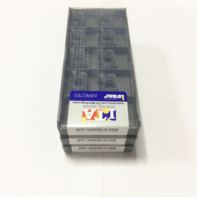 30Pcs ISCAR APKT1604PDR-76IC928 New carbide inserts