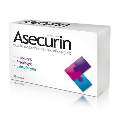 Dietary Supplement Asecurin 20caps.