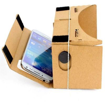Google Cardboard 3D VR Virtual Reality Glasses Mobile Phone 3D Viewer Glasses