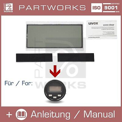 Lcd Reparatur Display Für Mercedes W201 190 2.3 16V Stoppuhr/digitaluhr/uhr Set
