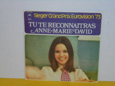 "Single 7"" - Anne Marie David - Tu Te Reconnaitras - Eurovision Song Contest 73"