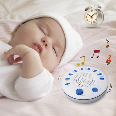 New White Relax Machine Deep Sleep Solution Noise Nature Peace Therapy WIth 9