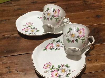 1 x old foley tennis set 6635 james kent staffordshire coffee teacup Cup plate