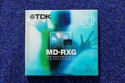 Tdk Md-Rxg80 Top Quality Blank Digital Audio Minidisc - 80 Minutes - New Boxed