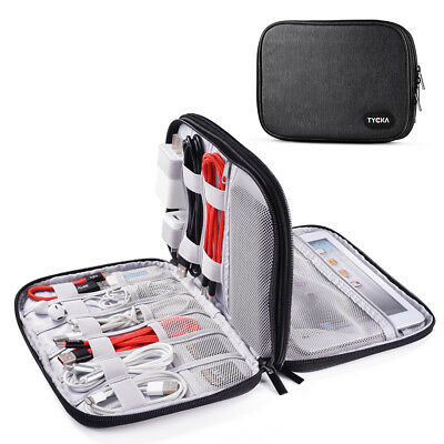 Electronic Accessories Storage USB Cable Organizer Bag Case Drive Travel TK306