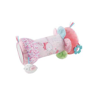 Mothercare Little Garden Tummy Time Activity Toy Roller/Pillow/Cushion Baby Girl