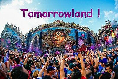 2x tomorrowland festival tickets 2018 full madness magnificent greens camping eur 6 50. Black Bedroom Furniture Sets. Home Design Ideas