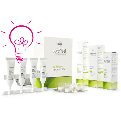 purePeel - AHA Fruchtsäure Peeling All Inclusive Treatment Box