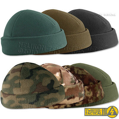 Helikon Army Military Tactical Fleece Beanie Watch Cap Docker Hat Camo