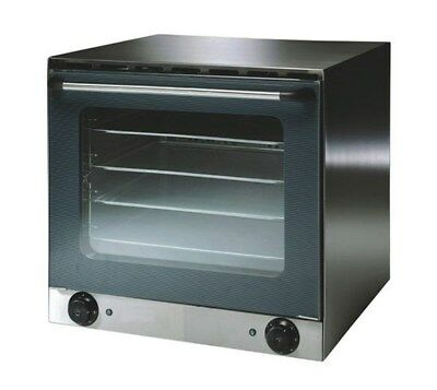 Quattro 57 ltr Convection Oven - Comes with 4 Free Baking Trays