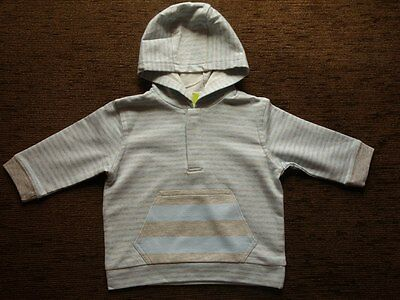 Boys Blue Cotton Jumper 3-6 Months Cherokee New with tags